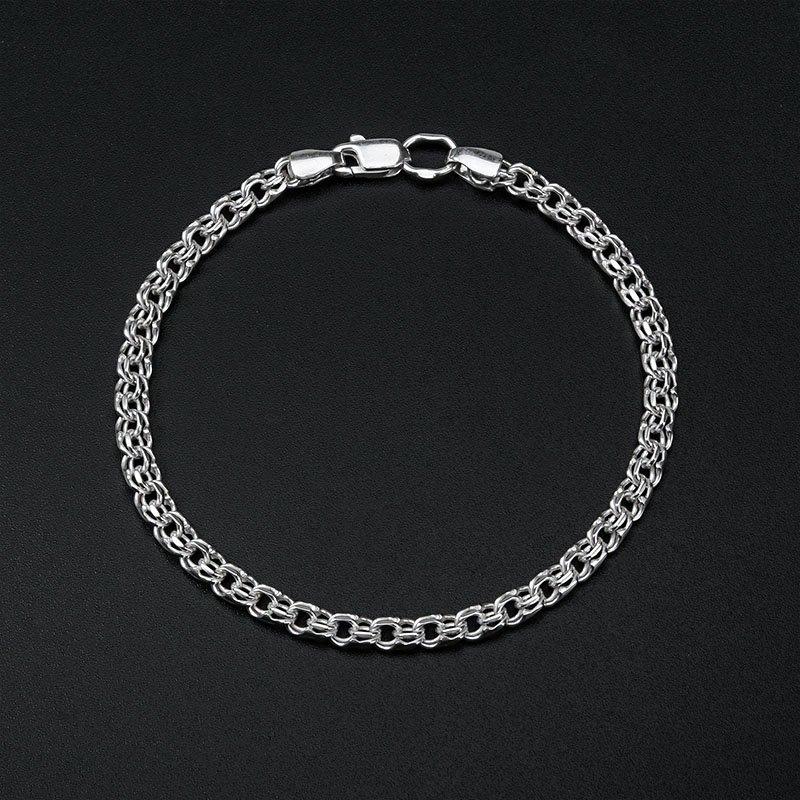 Браслет срібний Круглий Бісмарк з доставкою по Україні dbb00453cbb40
